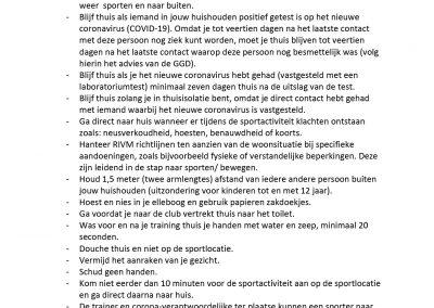 200511 Bijlage Nieuwe maatregelen Hygiene Sporters Trainers Ouders_1