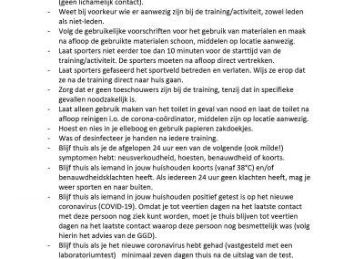 200511 Bijlage Nieuwe maatregelen Hygiene Sporters Trainers Ouders_13